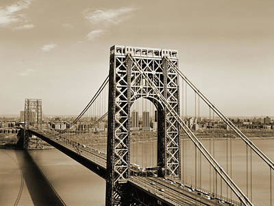 The George Washington Bridge Poster by American School