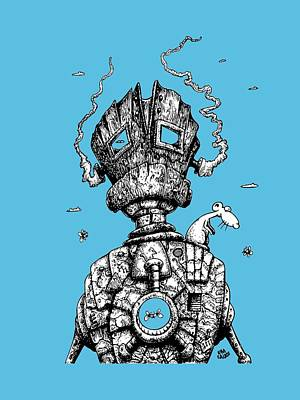 The Ghost In The Machine Poster