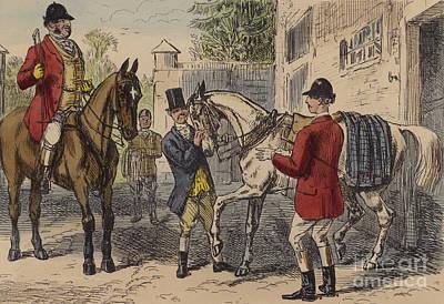 The Gift Horse Poster by John Leech