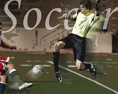 The Goalkeeper Poster by Kelley King