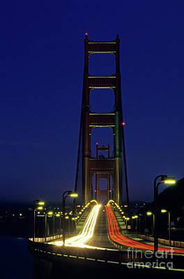 The Golden Gate Bridge Twilight Poster