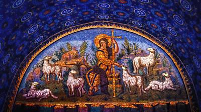 The Good Shepherd Poster by Nigel Fletcher-Jones
