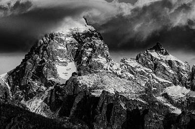 Poster featuring the photograph The Grand Teton by Gary Lengyel