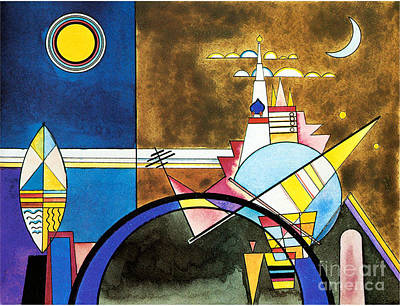The Great Gate Of Kiev Poster by Kandinsky