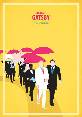 The Great Gatsby Poster by Fraulein Fisher