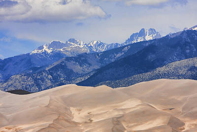 The Great Sand Dunes Color Print 45 Poster by James BO  Insogna