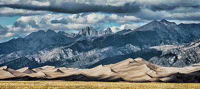 The Great Sand Dunes Panorama Poster