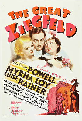 The Great Ziegfeld 1936 Poster by M G M