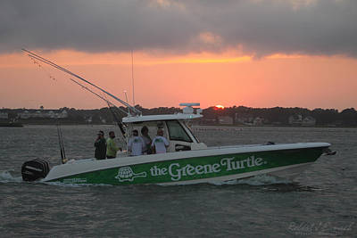 The Greene Turtle Power Boat Poster