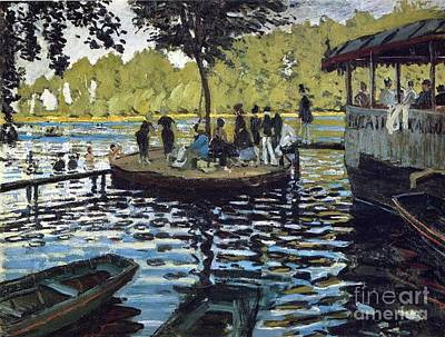The Grenouillere Poster by Monet