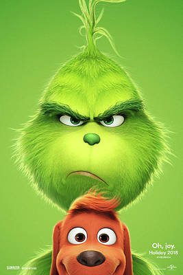 The Grinch 2018 A Poster