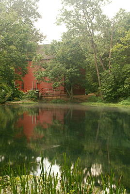 The Grist Mill At Alley Springs Take 3 Poster