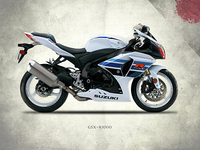 The Gsx-r1000 Poster by Mark Rogan