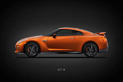 The Gt-r Poster by Mark Rogan