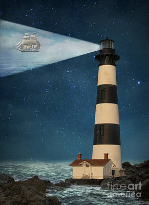 Poster featuring the photograph The Guiding Light by Juli Scalzi