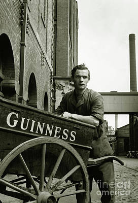 The Guinness Man Poster