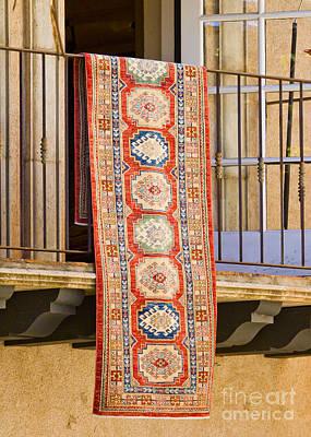 The Hanging Carpet Of Sedona Poster