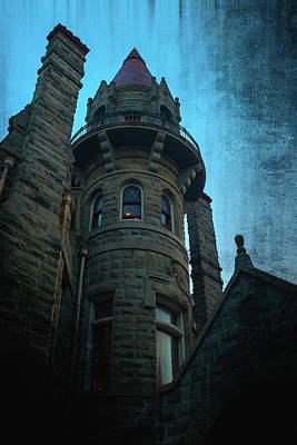 The Haunted Tower Poster by Keith Boone