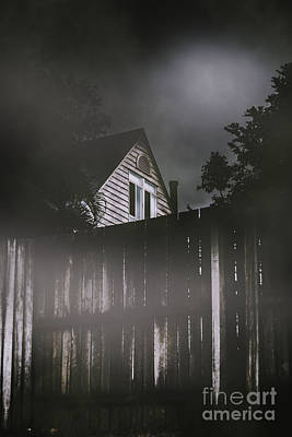 The Haunts Live Next Door Poster by Jorgo Photography - Wall Art Gallery