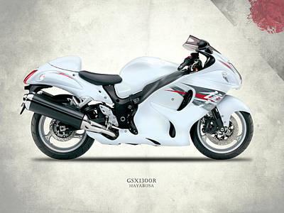 The Hayabusa Gsx1300r Poster by Mark Rogan