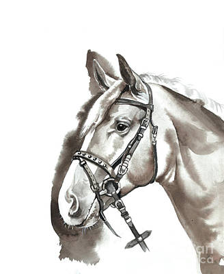 The Head Of Horse Poster