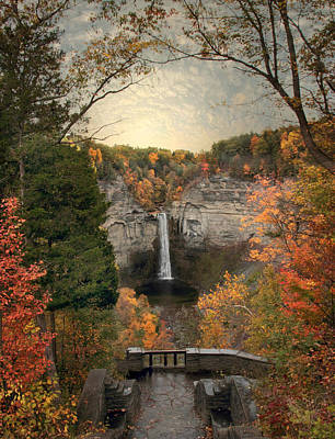 The Heart Of Taughannock Poster
