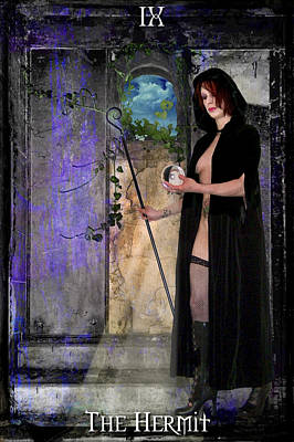 The Hermit Poster by Tammy Wetzel