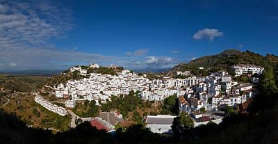 The Hilltop Village Of Casares, Malaga Poster