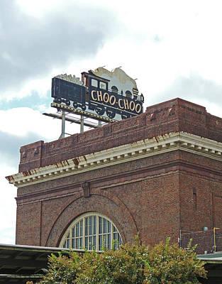 The Historic Chattanooga Choo Choo Sign Poster