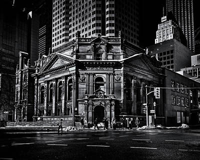Poster featuring the photograph The Hockey Hall Of Fame Toronto Canada by Brian Carson
