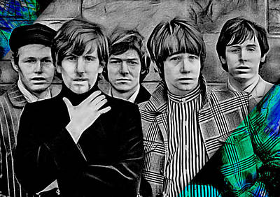 The Hollies Collection Poster by Marvin Blaine