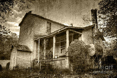 Poster featuring the photograph The Home Place by Pete Hellmann