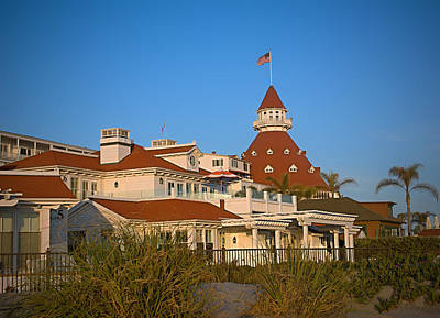 The Hotel Del Coronado Poster by See My  Photos