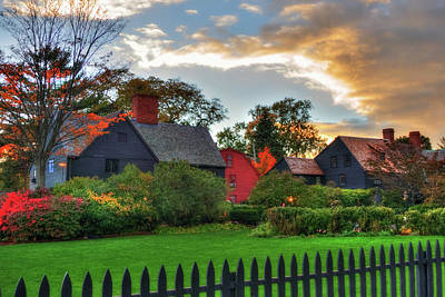The House Of Seven Gables Poster by Joann Vitali