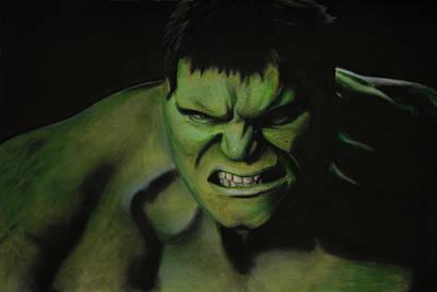 The Hulk Poster by Robert Bateman