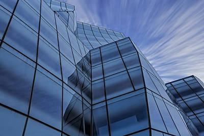 The Iac Building Poster by Susan Candelario