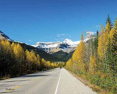 The Icefields Parkway Poster