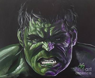 The Incredible Hulk Poster by Tyler Haddox