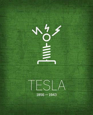 The Inventors Series 002 Tesla Poster
