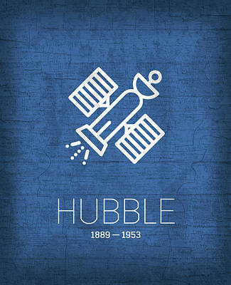 The Inventors Series 004 Hubble Poster