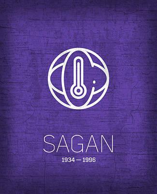 The Inventors Series 005 Sagan Poster