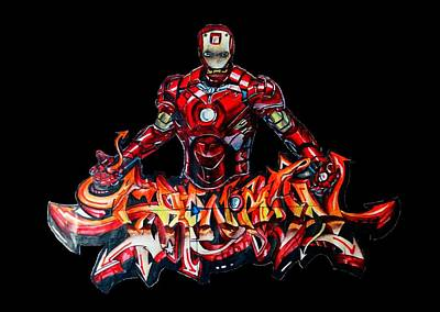 The Ironman  Poster by Chiranjib Bhorali