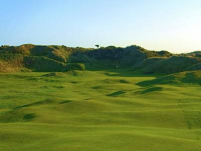 The Island Golf Club - Hole #5 Poster by Scott Carda