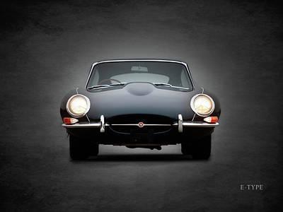 The Jaguar E Type Poster