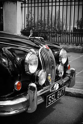 The Jaguar Poster by Mark Rogan
