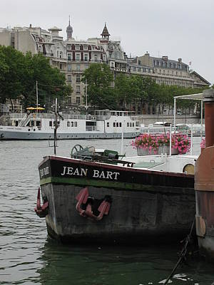 Poster featuring the photograph The Jean Bart by Nancy Taylor