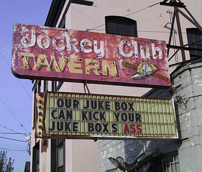 The Jockey Club Poster
