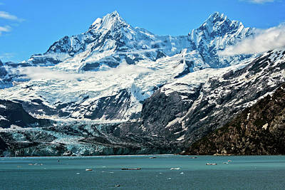 The John Hopkins Glacier Poster