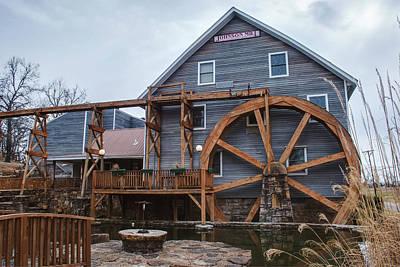 The Johnson Mill - Near Fayetteville Arkansas Poster by Gregory Ballos