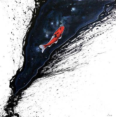 The Journey Poster by Sandi Baker